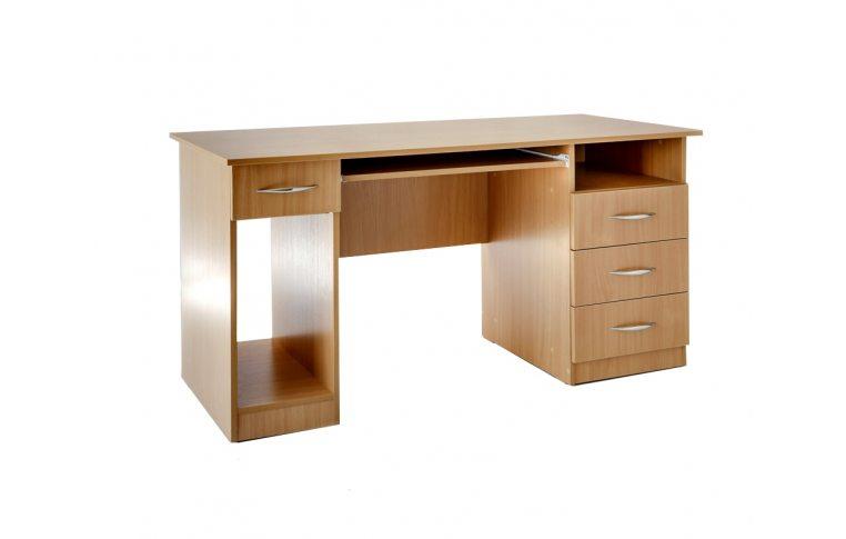 Компьютерные столы: купить Стол компьютерный Сильф СК-3Я ДСП бук - 1