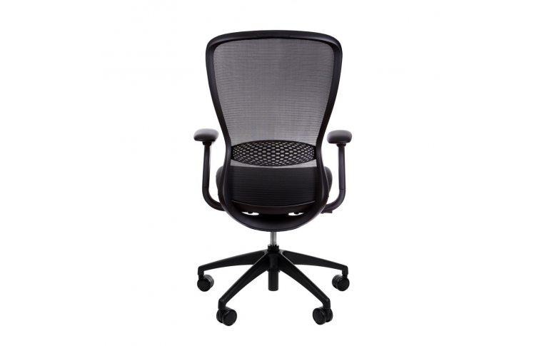 Эргономические кресла: купить Эргономичное кресло для компьютера In-point black Kreslalux - 4