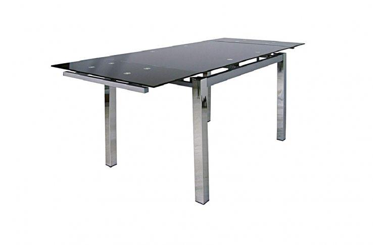 Раскладные столы: купить Раскладной стеклянный стол Обсидиан Richman - 3