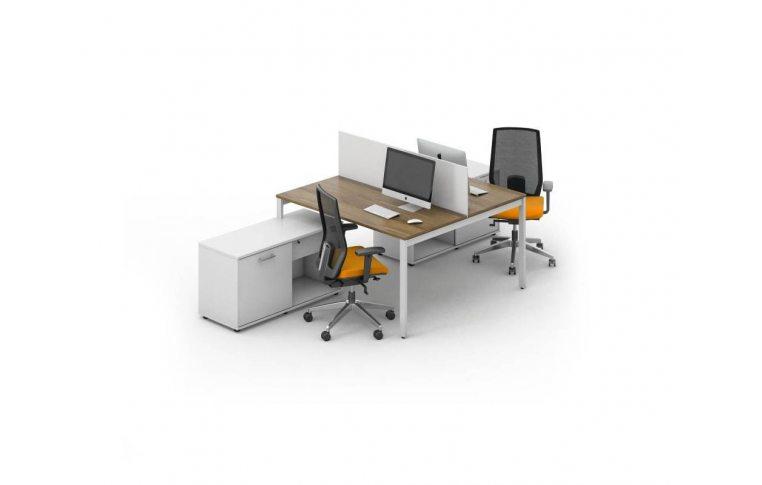 Офисные столы: купить Рабочее место персонала Джет композиция 3 M-Concept - 1