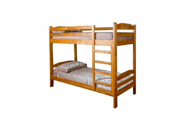 Деревянные кровати: купить Кровать 2-х ярусная из натурального дерева Сиеста-1 - 1