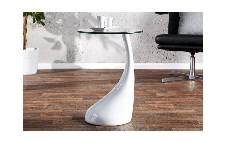 Журнальные столы: купить Стол журнальный Перла белый - 3