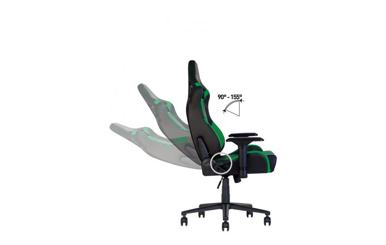 Игровые кресла: купить Кресло для геймеров Hexter Pro r4d Tilt mb70 Eco/03 Black/Green - 9
