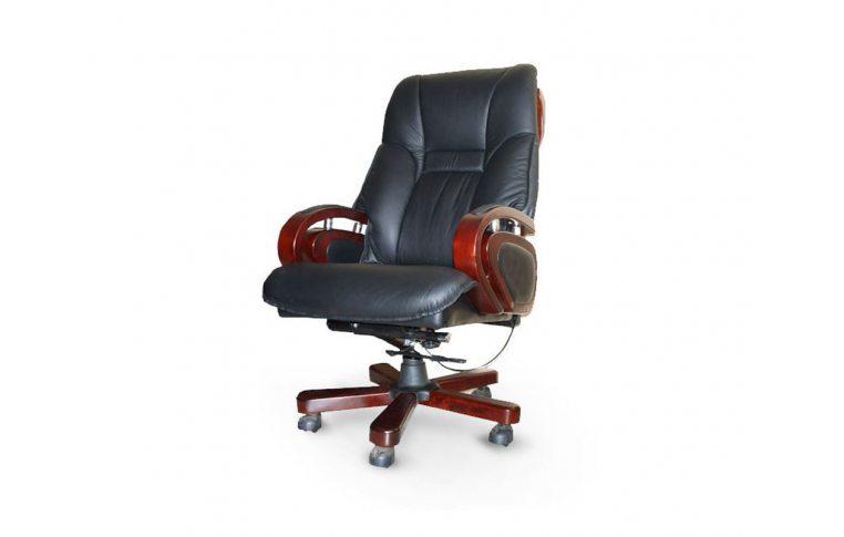 Кресла для руководителя: купить Кресло Спрингс СА-1291 черный Диал - 1