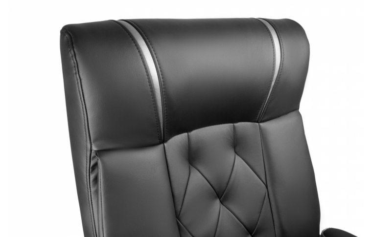 Кресла для руководителя: купить Кресло Barsky Design PU black BD-01 - 5