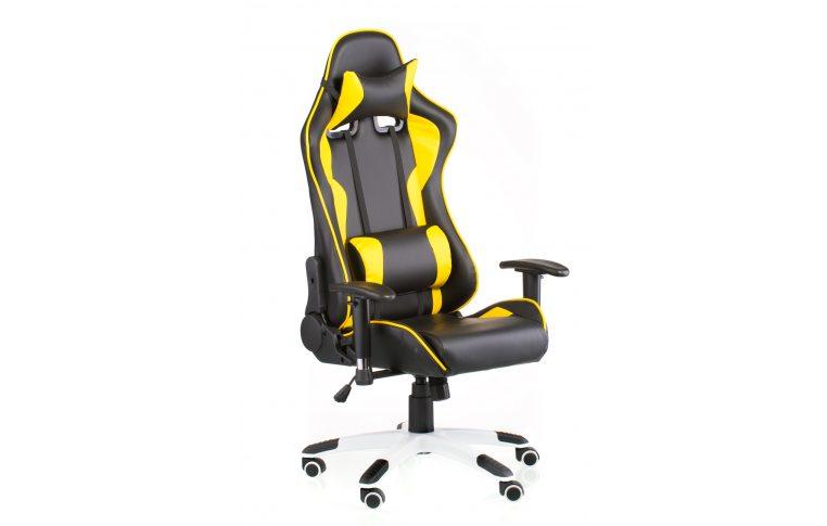 Геймерские кресла: купить Кресло ExtremeRace black/yellow - 6