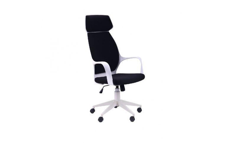 Офисные кресла: купить Кресло Concept белый, тк.черный - 1