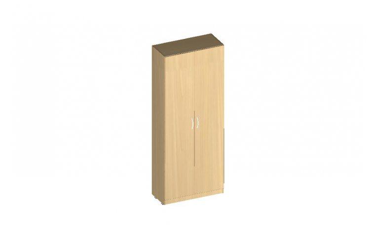 """Офисные шкафы: купить Шкаф для одежды серия """"БЮРО"""" ОБ1-302 (ДСП бук) - 1"""