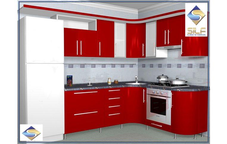 Кухни на заказ: купить Кухня под заказ Алекса Сильф - 1