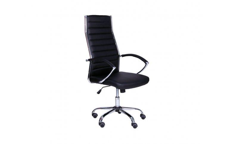 Кресла для руководителя: купить Кресло Jet HB XH-637 черный AMF - 1