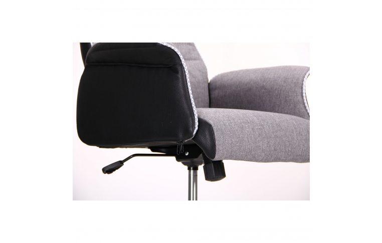 Кресла для руководителя: купить Кресло Brooklyn светло-серый, черный - 7