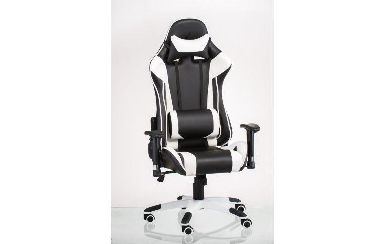 Офисные кресла: купить Кресло ExtremeRace black/white - 11