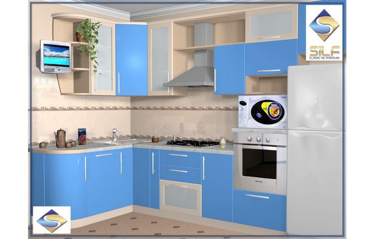 Кухни на заказ: купить Кухня под заказ Вивиан Сильф - 1