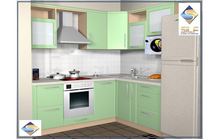 Кухни на заказ: купить Кухня под заказ Гамма Сильф - 1
