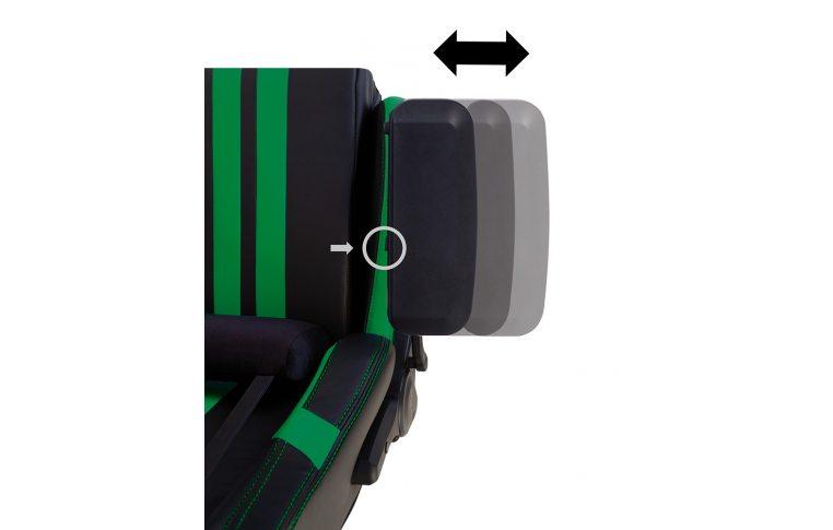 Игровые кресла: купить Кресло для геймеров Hexter Pro r4d Tilt mb70 Eco/03 Black/Green - 12