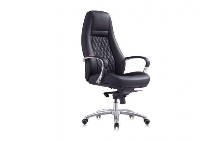 Кресла для руководителя: купить Кресло F185 BE черный - 1