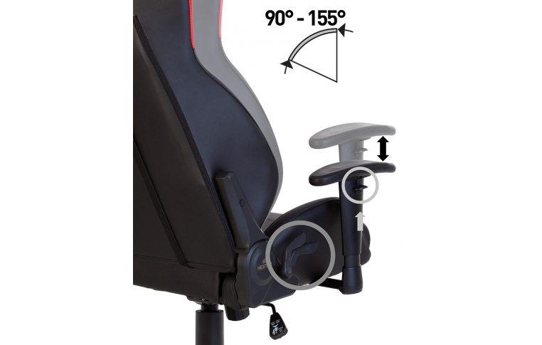 Геймерские кресла: купить Кресло для геймеров Hexter mx r1d Tilt pl70 Eco/01 Black/Red - 11