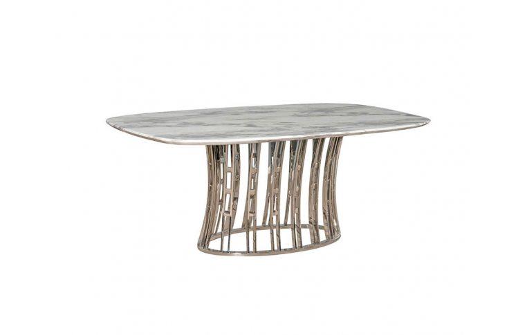 Кухонные столы: купить Стол мраморный Эван Prestol - 1