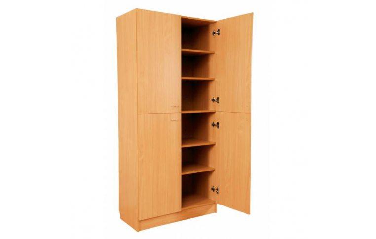 Школьные шкафы: купить Шкаф книжный четырехдверный - 1