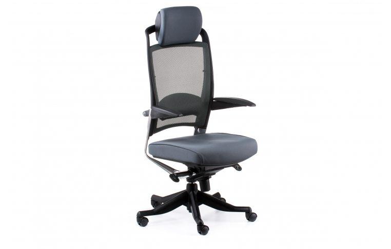 Офисные кресла: купить Кресло FULKRUM SLATEGREY FABRIC, SLATEGREY MESH - 6