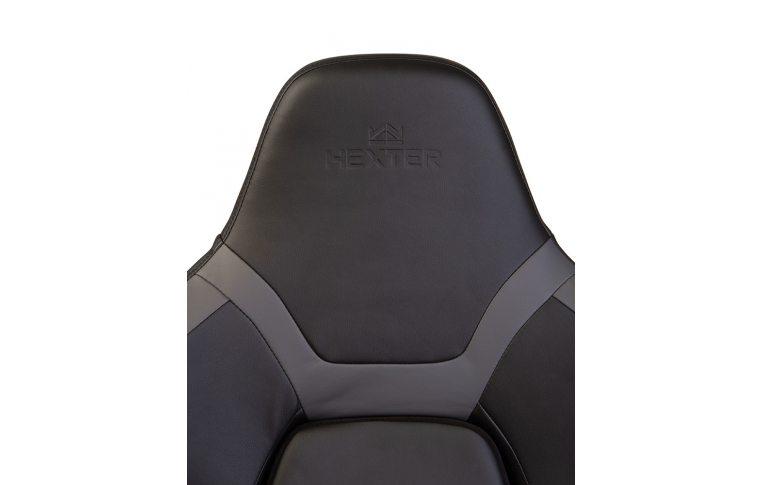 Игровые кресла: купить Кресло для геймеров Hexter xr r4d mpd mb70 Eco/01 Black/Grey - 7