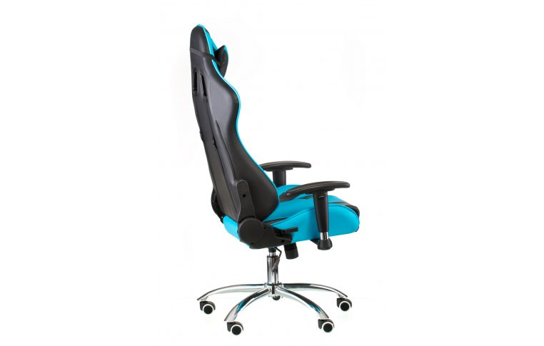 Геймерские кресла: купить Кресло ExtremeRace black/blue - 6