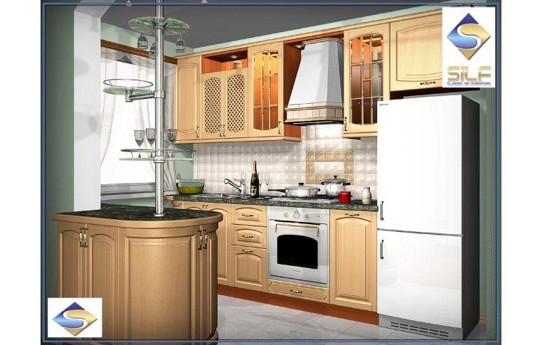 Кухни на заказ: купить Кухня под заказ Катарина Сильф - 1