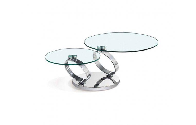 Журнальные столы: купить Cтол журнальный круглый дабл ринг Frisco - 1