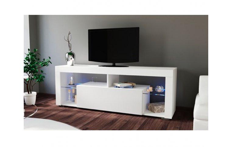 Тумбы под телевизор: купить Тумба под ТВ Hugo 160 белый/белый Accord - 1