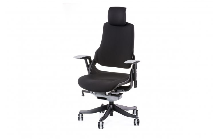 Офисные кресла: купить Кресло WAU BLACK FABRIC - 1