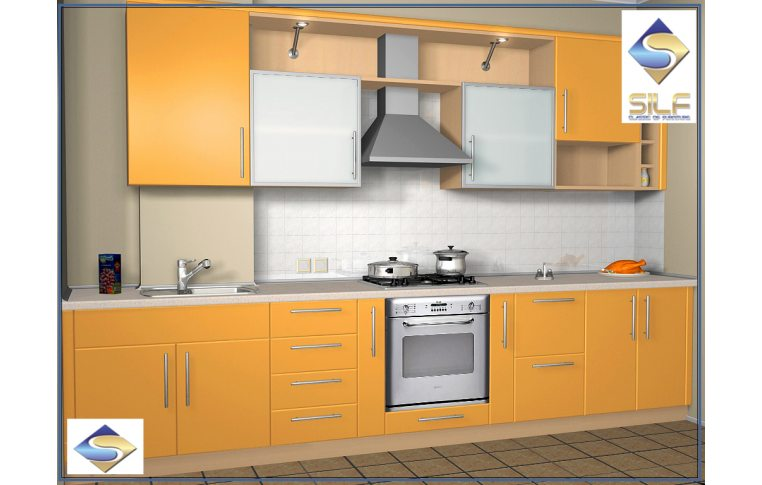 Кухни на заказ: купить Кухня под заказ Милана Сильф - 1