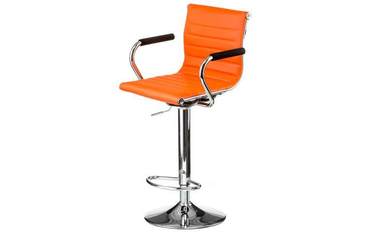 Барные стулья: купить Стул барный Bar orange plate - 1