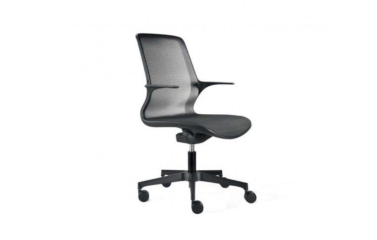 Кресла для руководителя: купить Кресло Loop черный Milani - 1