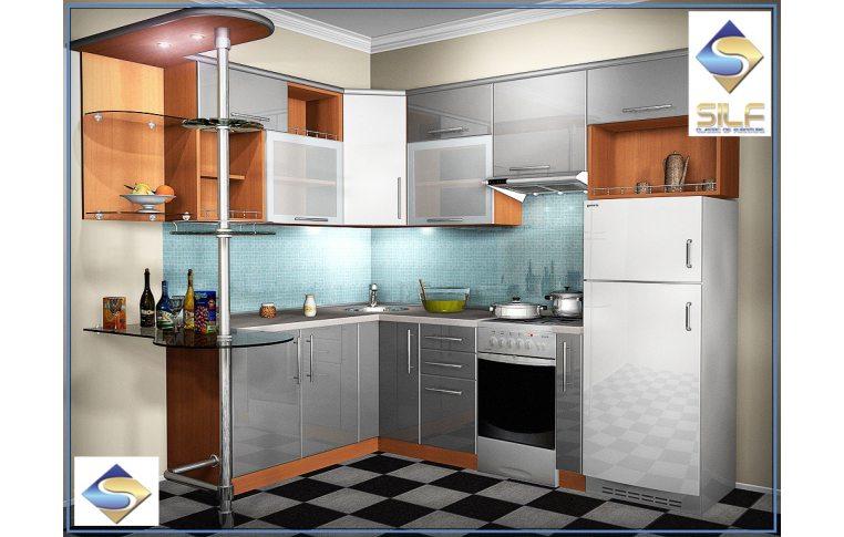 Кухни на заказ: купить Кухня под заказ Трейси Сильф - 1