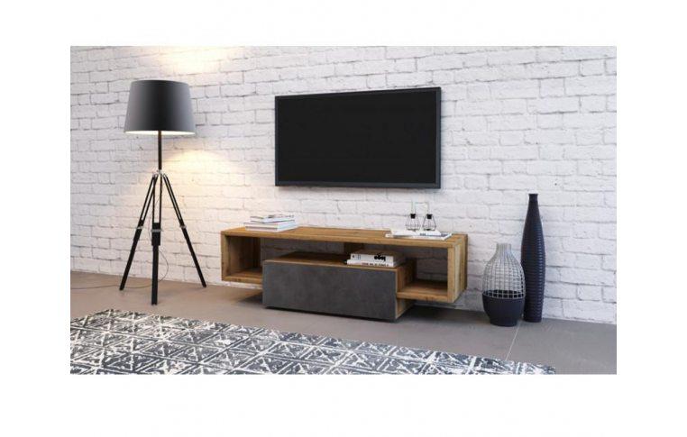 Тумбы под телевизор: купить Тумба под TV Hubertus 140 дуб вотан/матера Accord - 1