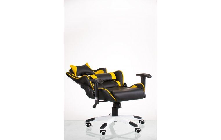 Геймерские кресла: купить Кресло ExtremeRace black/yellow - 9