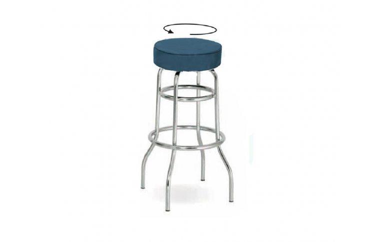 Офисная мебель: купить Стул барный RETRO TWIST chrome - 1