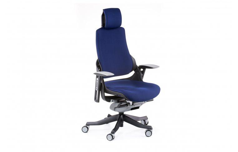 Офисные кресла: купить Кресло WAU NAVYBLUE FABRIC - 6