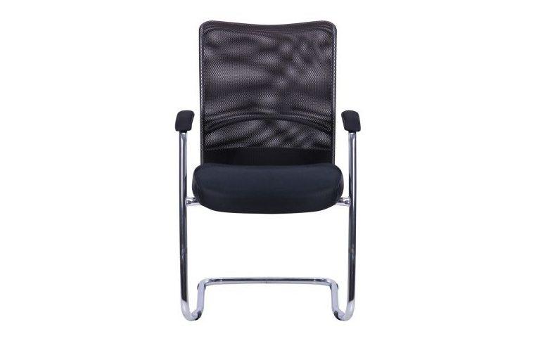 Офисные стулья: купить Стул АЕРО CF хром Неаполь N-20/сетка черная - 1