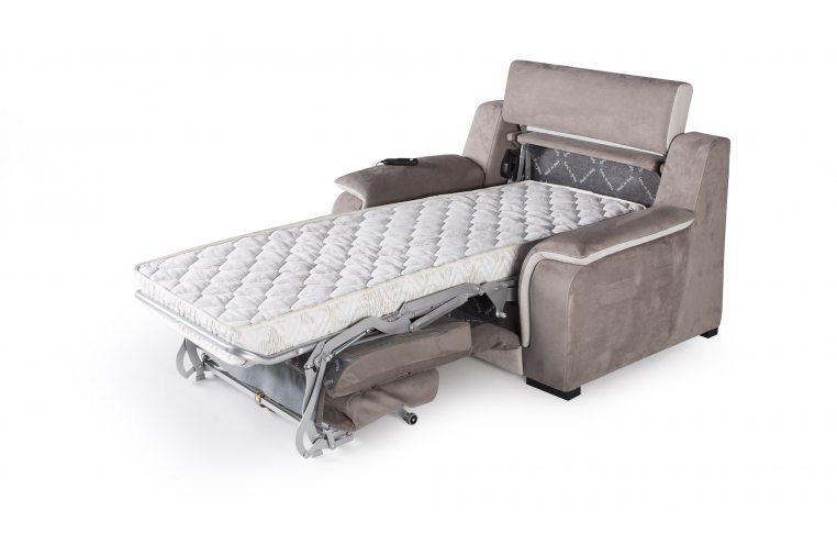 Итальянская мебель: купить Раскладное кресло-кровать Optimus Cubo Rosso - 3