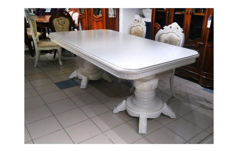 Кухонные столы: купить Стол DM-P22 белый - 1