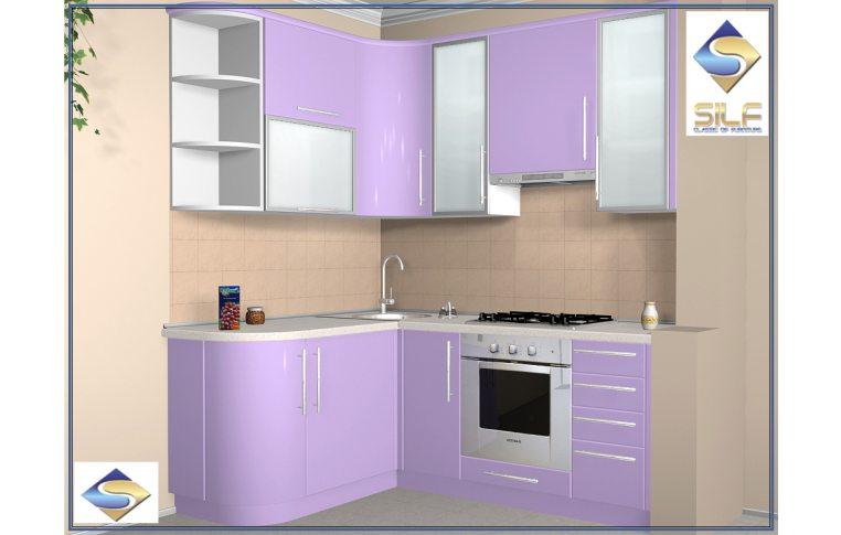 Кухни на заказ: купить Кухня под заказ Карли Сильф - 1
