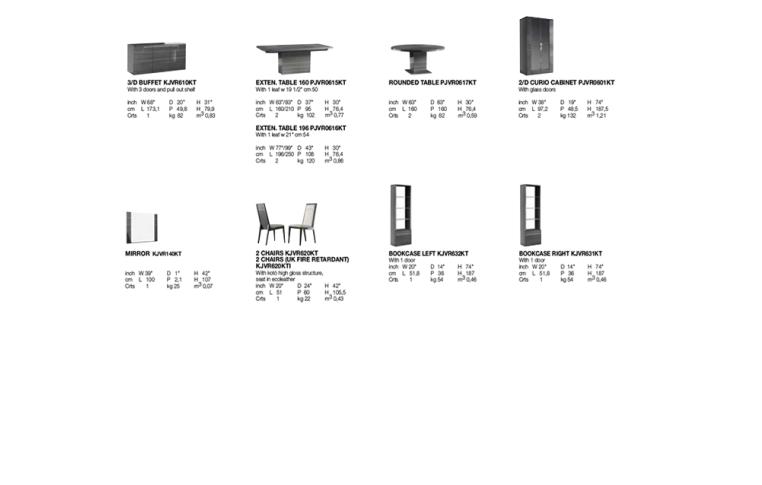 Итальянская мебель: купить Столовая в современном стиле Versilia Alf Group - 2