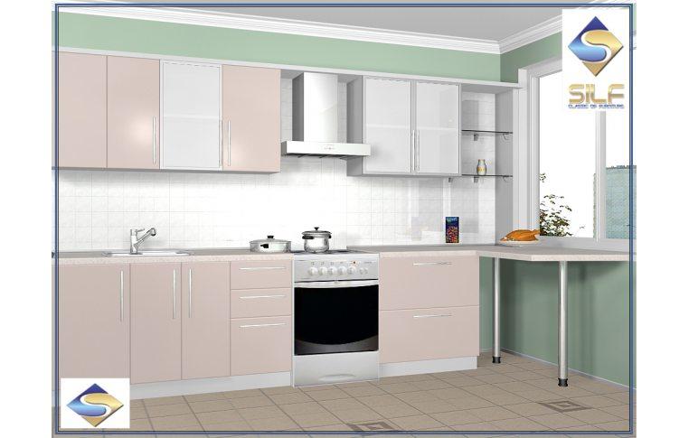 Кухни на заказ: купить Кухня под заказ Элисон Сильф - 1