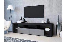 Тумба под ТВ Hugo 200 черный/серый Accord - Тумбы под телевизор