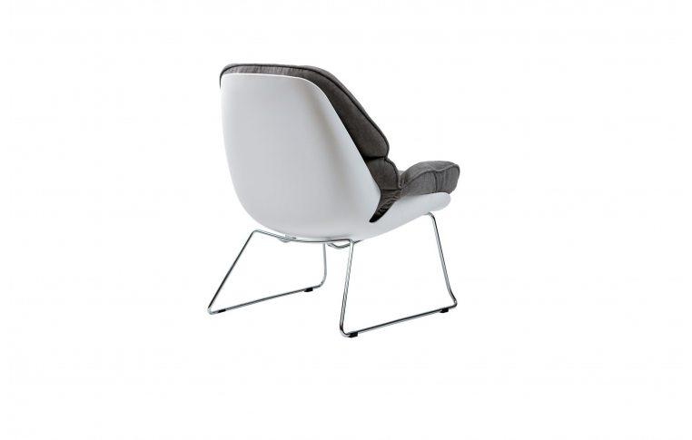 Кресла: купить Кресло лаунж Serenity серое - 4