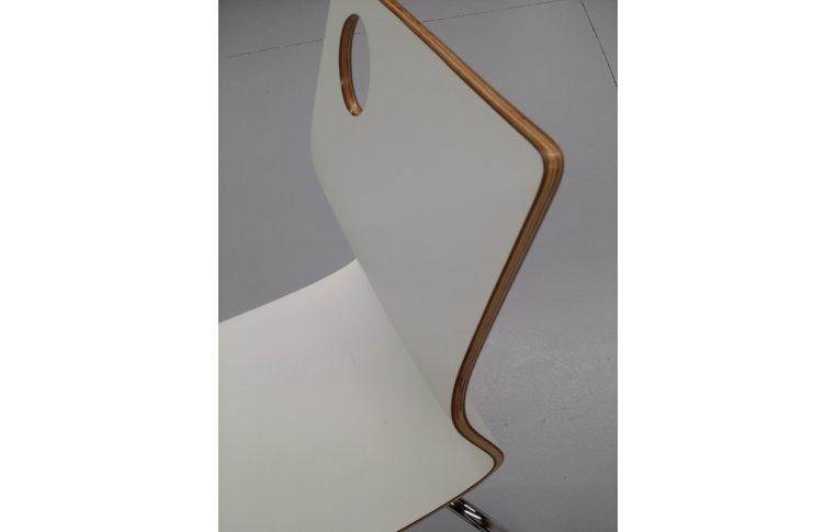 Кухонные стулья: купить Стул Хорека-W, гнутая фанера, белый - 4