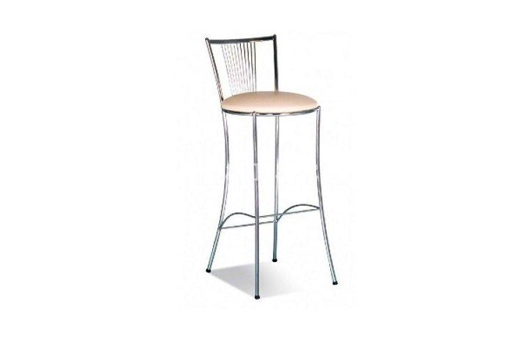 Барные стулья: купить Стул барный Фоска Хокер Хром - 1