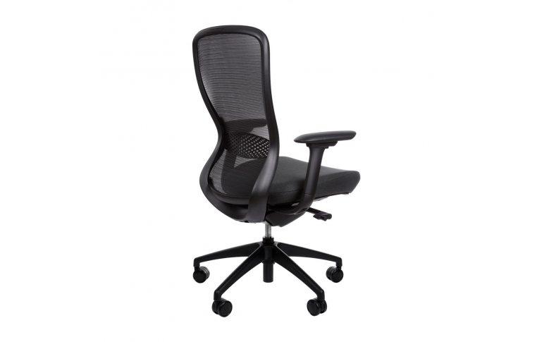 Эргономические кресла: купить Эргономичное кресло для компьютера In-point black Kreslalux - 3
