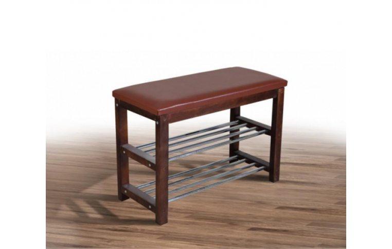 Мягкая мебель: купить Полка для обуви №1(венге) - 1